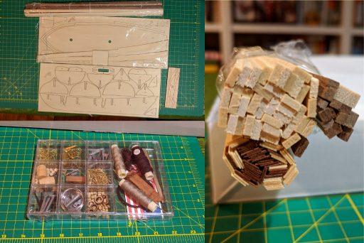 Virginia 1819 kit parts