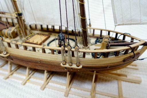 Completed model