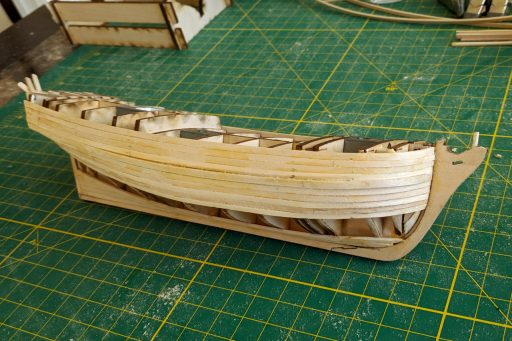 Planking the model