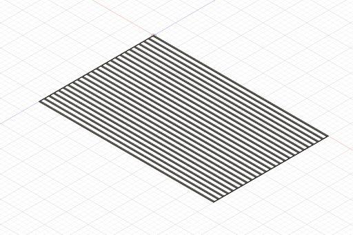 Design of material for deck caulking