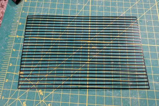 3D printed material for deck caulking